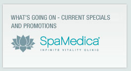 Current specials and promotions at SpaMedica